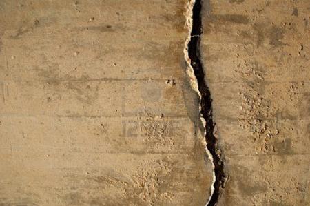 mura crepate