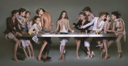 brigitte niedermair, the last supper 2005 copia