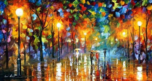 unexpected_meeting_palette_knife_by_leonid_afremov