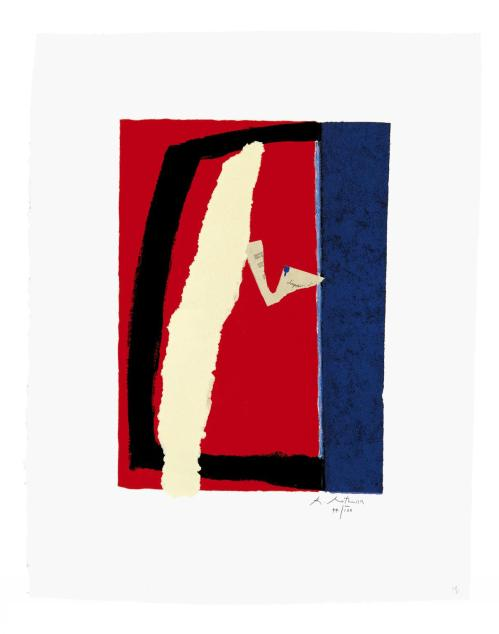 Game of Chance 1987 by Robert Motherwell 1915-1991