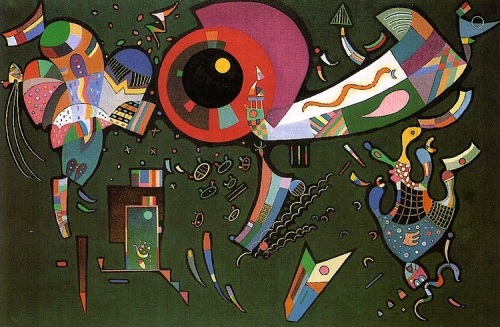 Kandinsky Intorno al cerchio 1940