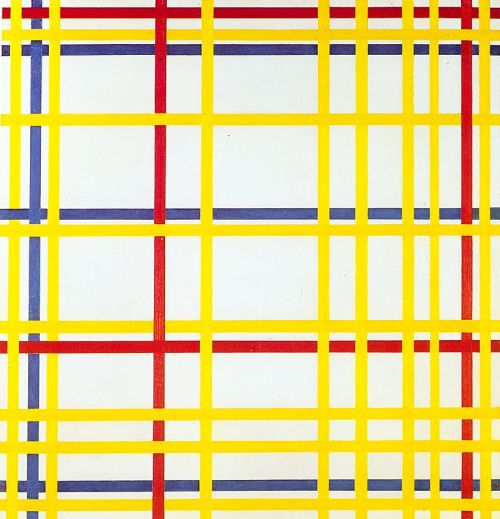 Mondrian 1942 new-york-city-1