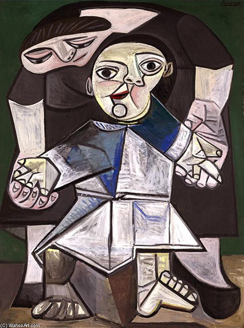 PABLO-PICASSO-THE-FIRST-STEPS 1943