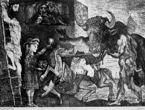 Picasso MInotauromachia 1935